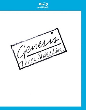 картинка Blu Ray Genessis – Three Sides Live от магазина
