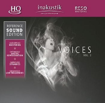 картинка CD диск In-Akustik Various ‎– Great Voices Vol. 2 от магазина