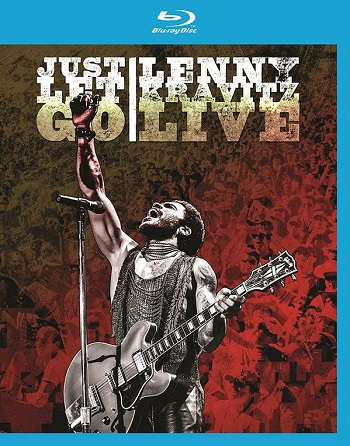 картинка Blu Ray Lenny Kravitz – Just Let Go Lenny Kravitz Live от магазина
